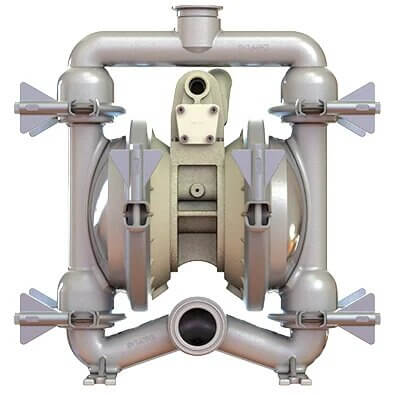 1½ and 2 inch diaphragm pump for food & beverages