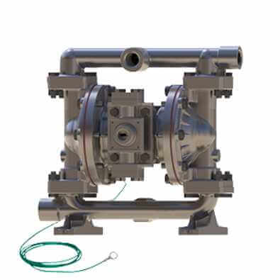 Diaphragm pump is used to gas transfer