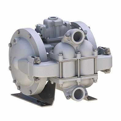 This Diaphragm pump mainly used for maximum amount of flow capacity with least amount of air gas consumption application.