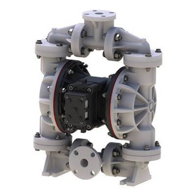 Non Metallic diaphragm Pump handle both corrosive fluids and small suspended solids