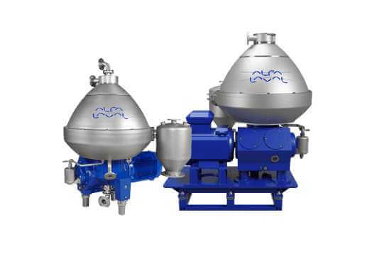 Alfa Laval separator from solid to liquid