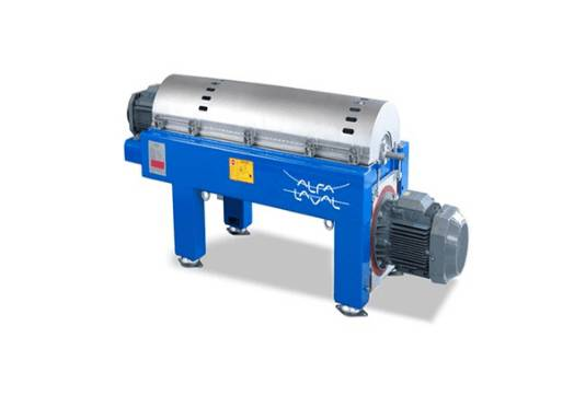 Alfa Laval decanter centrifuges help you separate solids from liquids within one single continuous process.