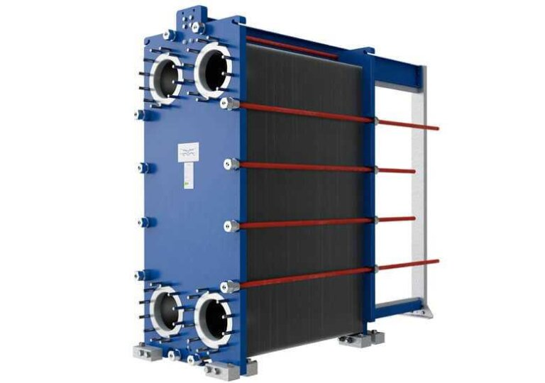 Gasketd-Plate-heat-exchanger refrigeration and exacting processes