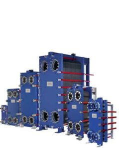 semi-welded line can take a higher design pressure compared to fully gasketed plate-and-frame heat exchangers